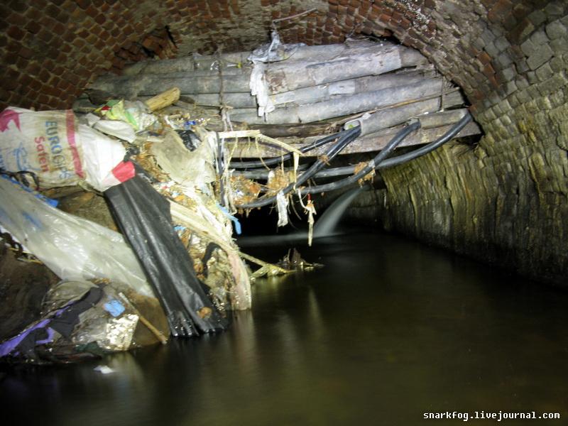 Кабельник в подземной реке Половица