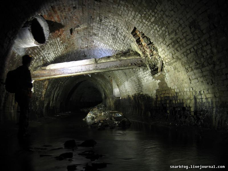 Масштабное историческое подземное сооружение