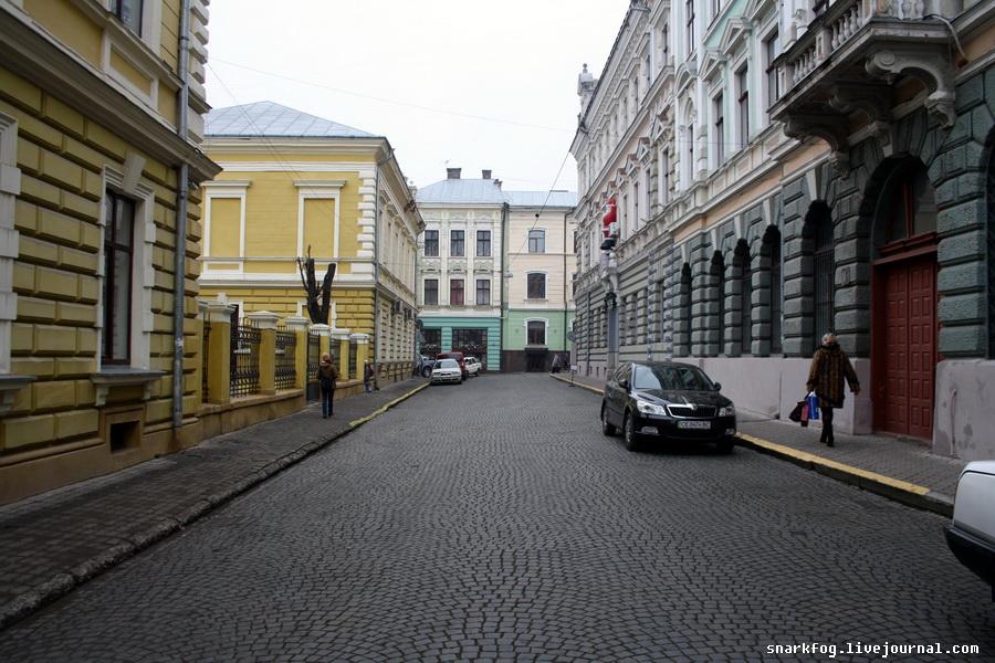 Улица в Черновцах
