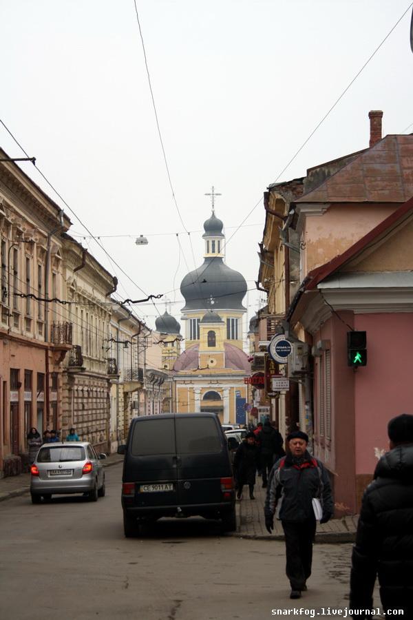 Центр Черновцов