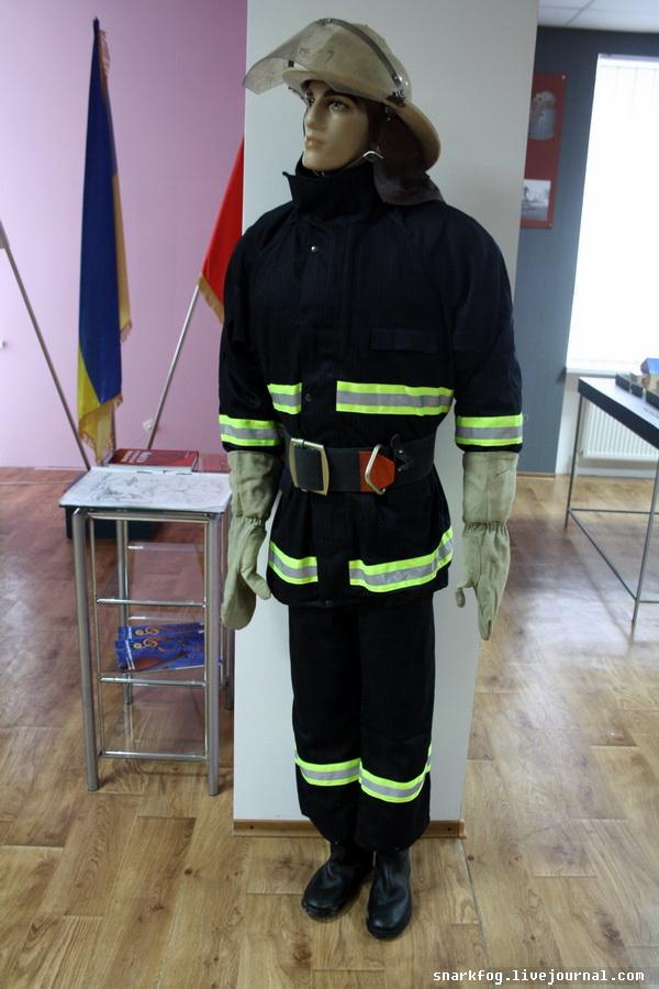 Современный прикид пожарного