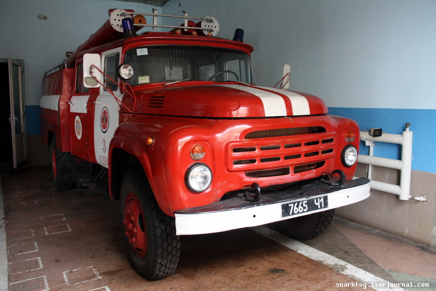 Пожарный ЗИЛ-130