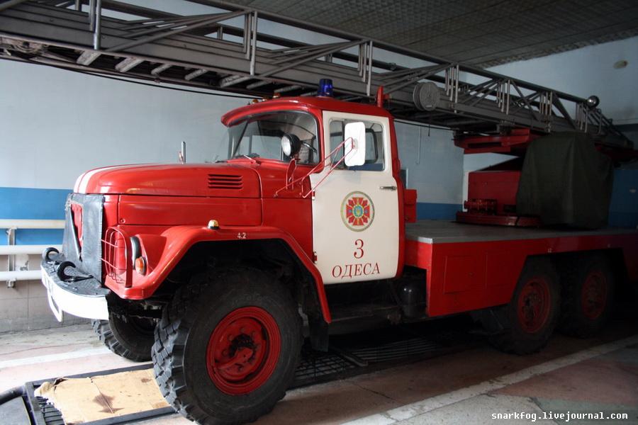 Пожарный ЗИЛ-131