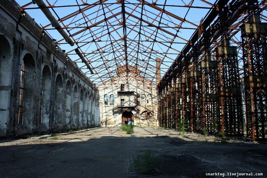 """Руины завода """"Краян"""""""