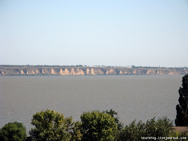 Вид на Днестровский лиман.