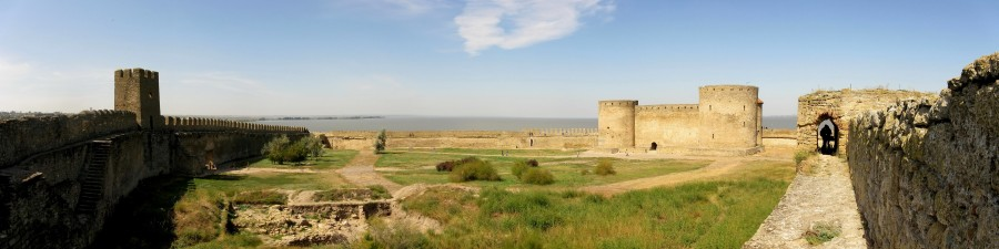 Панорама Аккерманской крепости